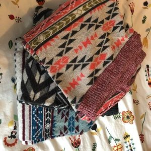 3 pairs of warm leggings